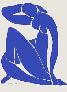 Verve - Nu bleu IX by Henri Matisse