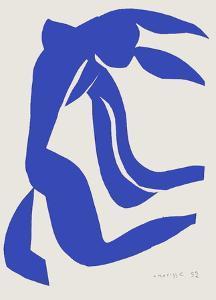 Verve - Nu bleu VII by Henri Matisse