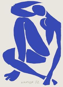 Verve - Nu bleu XI by Henri Matisse