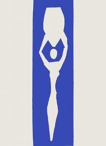 Verve - Nu bleu XII by Henri Matisse