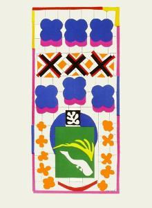 Verve - Poissons chinois by Henri Matisse