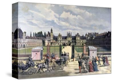Arrival of the President of the Republique, Château De Fontainebleau, 1892