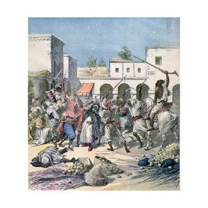Assassination of a French Collaborator, Morocco, 1891 by Henri Meyer