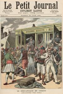 Bandits in the Orient: Arrests on a Train, from Le Petit Journal, 20th June 1891 by Henri Meyer