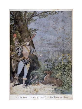 La Biche Au Bois, Théâtre Du Châtelet, Paris, 1896