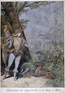 La Biche Au Bois, Théâtre Du Châtelet, Paris, 1896 by Henri Meyer