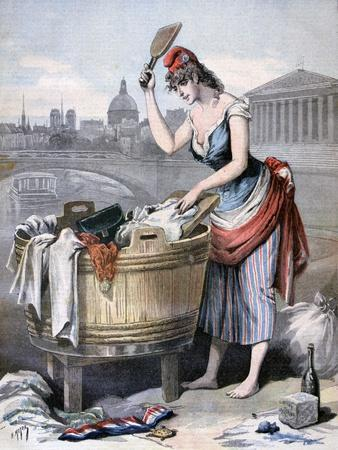 Marianne, the Queen of the Washerwomen, 1893