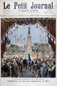 President Faure at the Inauguration Ceremony of a Monument in Nice, 1896 by Henri Meyer