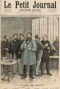 The Chamber of Deputies: The Refreshment Room, from Le Petit Journal, 5th November 1892 by Henri Meyer