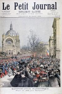 The Departure of French Troops to Madagascar, Paris, 1895 by Henri Meyer