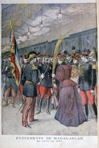 The Return of the 200 Regiment from Madagascar, 1896 by Henri Meyer