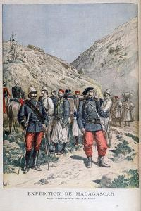 Uniforms of the French Expeditionary Force in Madagascar, 1895 by Henri Meyer