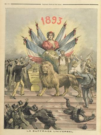 Universal Suffrage from the Supplement of 'Le Petit Journal', 19th August 1893