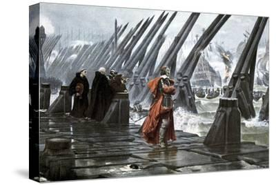Cardinal Richelieu at the Siege of La Rochelle, 1628