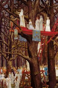 Druids Cutting the Mistletoe on the Sixth Day of the Moon by Henri-Paul Motte