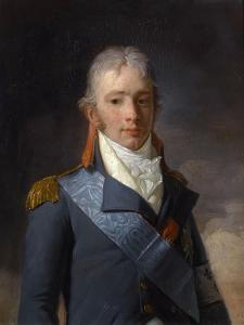 Charles Ferdinand D'Artois, Duke of Berry (1778-182) by Henri-Pierre Danloux