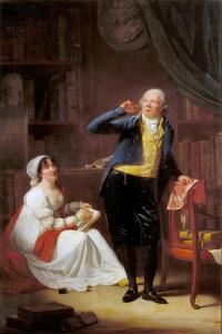Jacques Delille and His Wife by Henri-Pierre Danloux