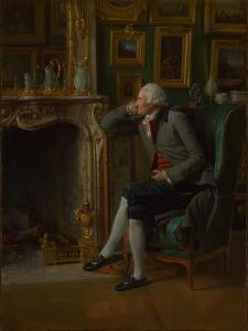 The Baron De Besenval in His Salon De Compagnie, 1791 by Henri-Pierre Danloux