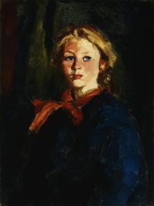 Miss Violet Organ (Katie McNamara) by Henri Robert