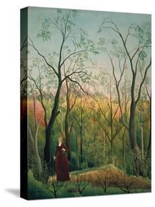 At the Edge of a Forest, about 1886 by Henri Rousseau