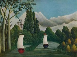 'Banks of the Oise', 1905 by Henri Rousseau