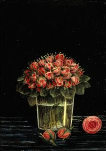 Bunch of Roses by Henri Rousseau