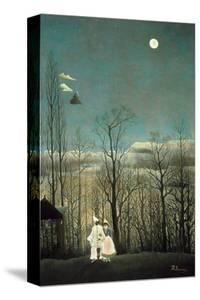 Carnival Evening by Henri Rousseau