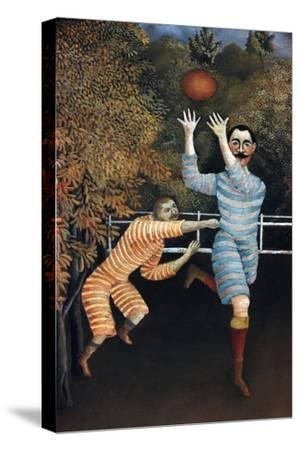 Detail of The Football Players