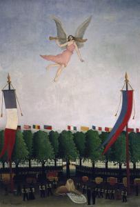Die Freiheit Laedt die Kuenstler Zum 22. Salon Der Unabhaengigen Ein, 1906 by Henri Rousseau