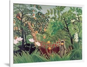 Exotic Landscape, 1910 by Henri Rousseau