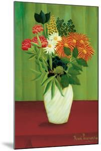 Green Flowers by Henri Rousseau