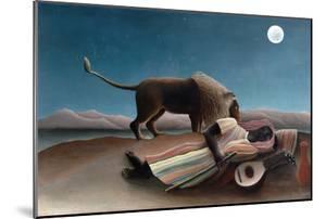 La Bohémienne Endormie (The Sleeping Gypsy) by Henri Rousseau by Henri Rousseau