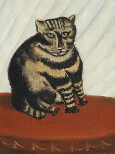 Le Chat Tigre by Henri Rousseau