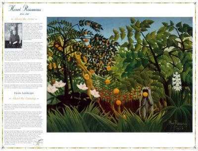 Masterworks of Art - Exotic Landscape