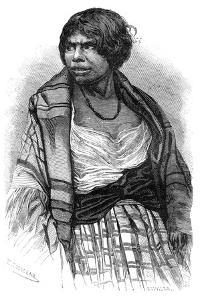 Mi'Kmaq Woman, Cape Breton, Nova Scotia, Canada, 19th Century by Henri Rousseau