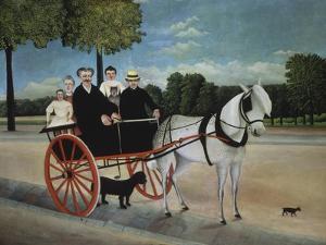 Old Man Junier's Trap, 1908 by Henri Rousseau