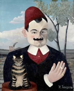 Portrait of Monsieur X (Pierre Loti) by Henri Rousseau