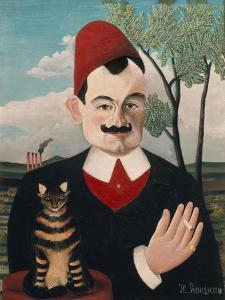 Portrait of Pierre Loti, about 1910 by Henri Rousseau