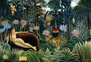 Rousseau: Dream, 1910 by Henri Rousseau