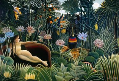Rousseau: Dream, 1910