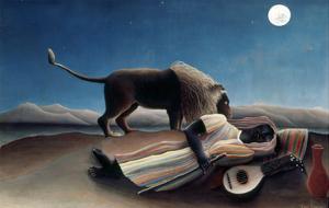 Rousseau: Gypsy, 1897 by Henri Rousseau