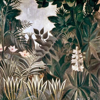 Rousseau: Jungle, 1909