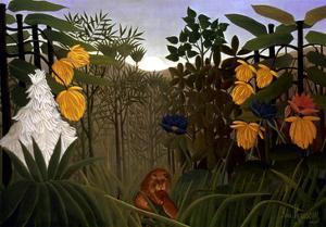 Rousseau: Lion by Henri Rousseau