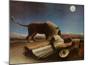 Sleeping Gypsy, 1897 by Henri Rousseau