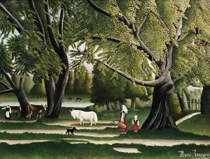 Summer by Henri Rousseau