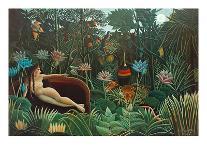 Exotic Landscape, 1910-Henri Rousseau-Giclee Print