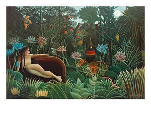 The Dream, 1910 by Henri Rousseau
