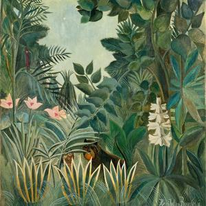 The Equatorial Jungle, 1909 by Henri Rousseau