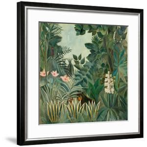 The Equatorial Jungle, 1909 by Henri Rousseau