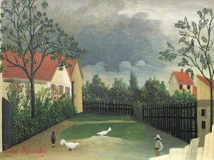 The Farm Yard, 1896-98 by Henri Rousseau